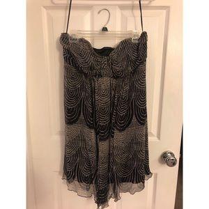 Strapless Express dress!